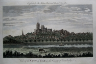 CITY OF ELY  CAMBRIDGESHIRE c1784