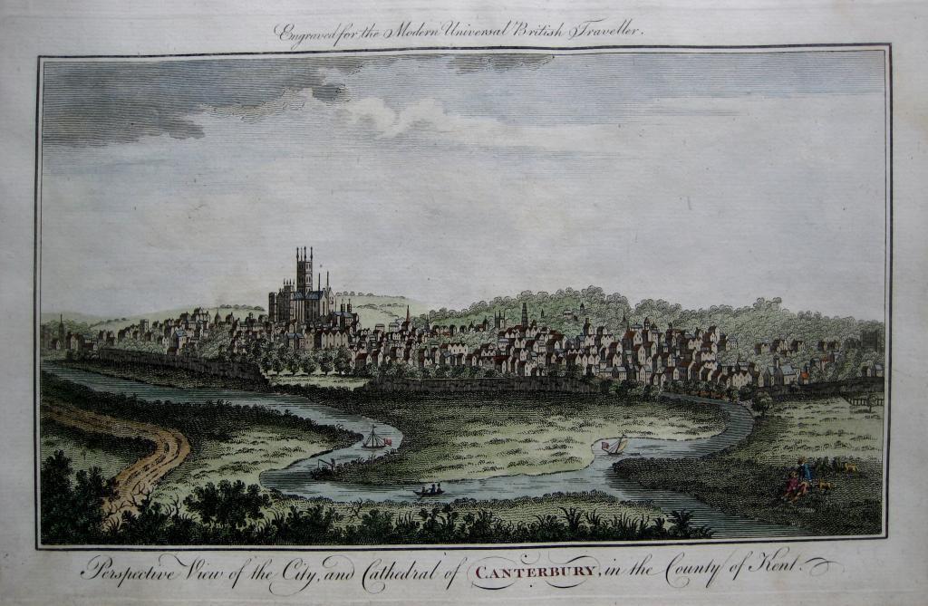 CANTERBURY KENT c1784