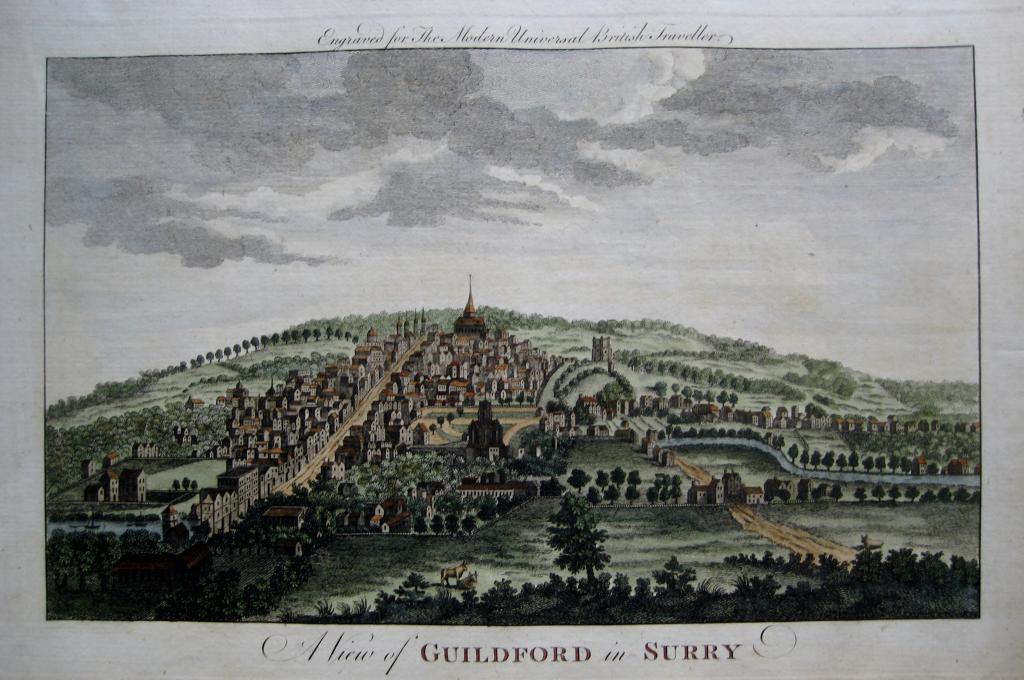 GUILDFORD  SURREY c1784