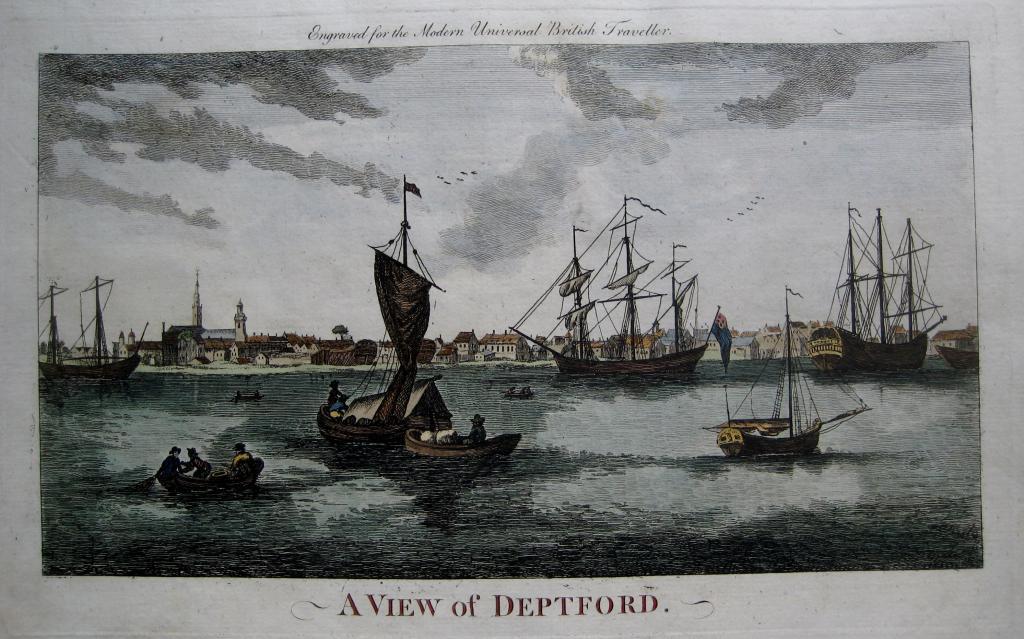DEPTFORD  KENT c1784