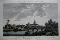HEREFORD  HEREFORDSHIRE  c1784