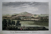 WHITE HORSE HILL  BERKSHIRE c 1784