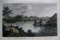 CASTLE URQHUART  INVERNESS SCOTLAND  c1784