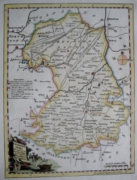CAMBRIDGESHIRE by THOMAS KITCHIN c1780