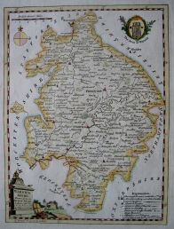 WARWICKSHIRE by THOMAS KITCHIN c1780
