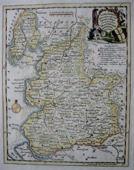 LANCASHIRE by THOMAS KITCHIN c1780