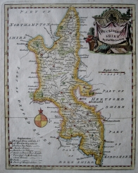 BUCKINGHAMSHIRE by THOMAS KITCHIN c1780