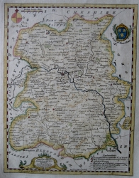 SHROPSHIRE by THOMAS KITCHIN c1780
