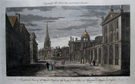 OXFORD UNIVERSITY  OXFORDSHIRE  c1784