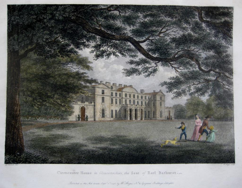 CIRENCESTER HOUSE  GLOUCESTERSHIRE c1796