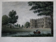 LONGFORD  WILTSHIRE by W. ANGUS c1788