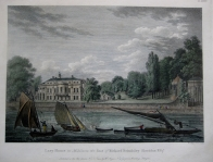 LACY HOUSE  MIDDLESEX by W. ANGUS c 1793