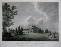 BRADWELL LODGE  ESSEX by W. ANGUS c.1793