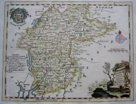 WESTMORELAND CUMBRIA by THOMAS KITCHIN c1780