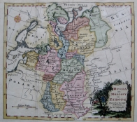 RUSSIA by THOMAS KITCHIN c1780