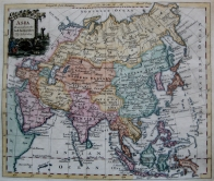ASIA BY THOMAS KITCHIN c1780