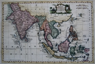 EAST INDIES BY THOMAS KITCHIN c1780