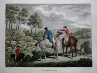 FOX HUNTING by SAMUEL HOWITT c1806