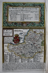 SOMERSET by EMANUEL BOWEN & JOHN OWEN C1720