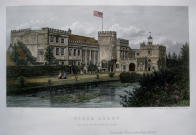 FORDE ABBEY DORSET BY LE KEUX C1863