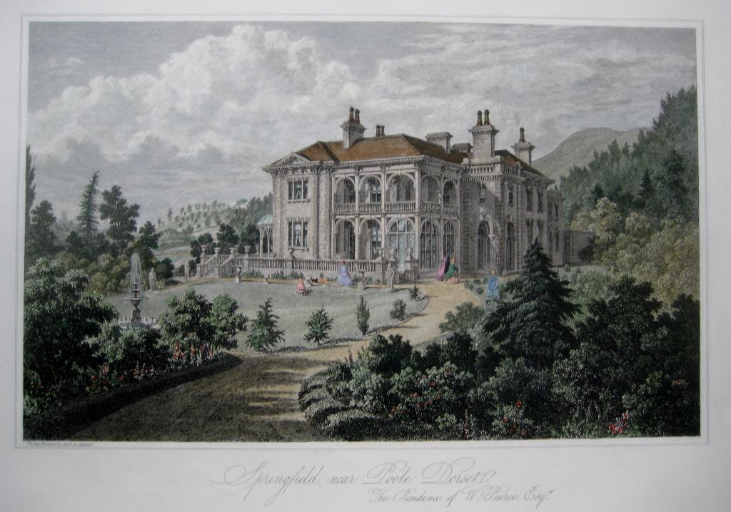 SPRINGFIELD POOLE DORSET BY BRANNON C 1863