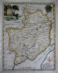MONMOUTH WALES BY THOMAS KITCHIN C1780