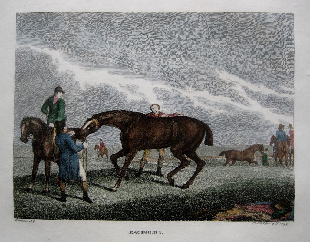HORSE RACING BY SAMUEL HOWITT C1806