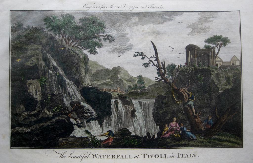 TIVOLI  ITALY    MOORES TRAVELS C1778