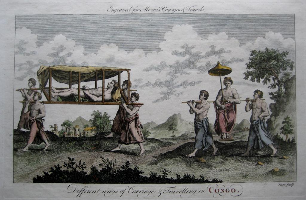 THE CONGO  MOORES TRAVELS     C1778