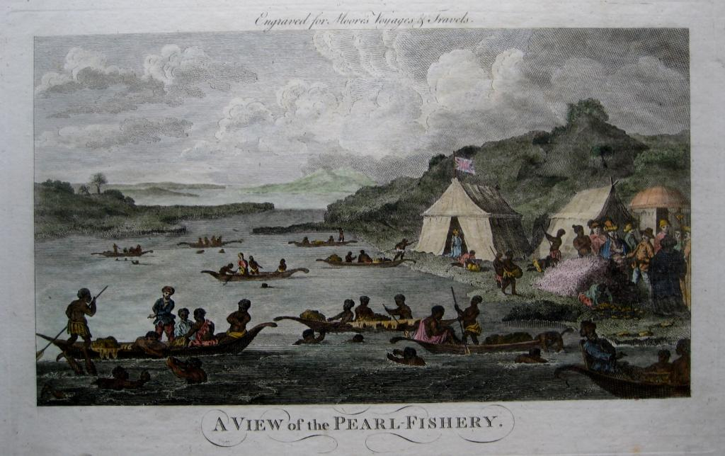 MEXICO PEARL FISHING  MOORES TRAVELS C1778