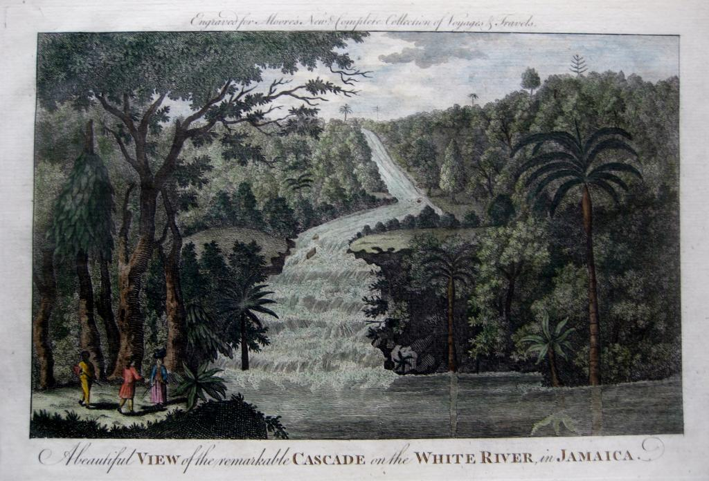 JAMAICA  MOORES TRAVELS C1778