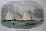 YACHT RACING  ROYAL LONDON YACHT CLUB C1855