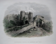 CARISBROOKE CASTLE  ISLE OF WIGHT  C1860