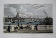 VIEW OF LONDON C1840