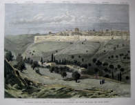 VIEW OF JERUSALEM c1883