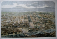 BIRDS EYE VIEW OF BERLIN C1858