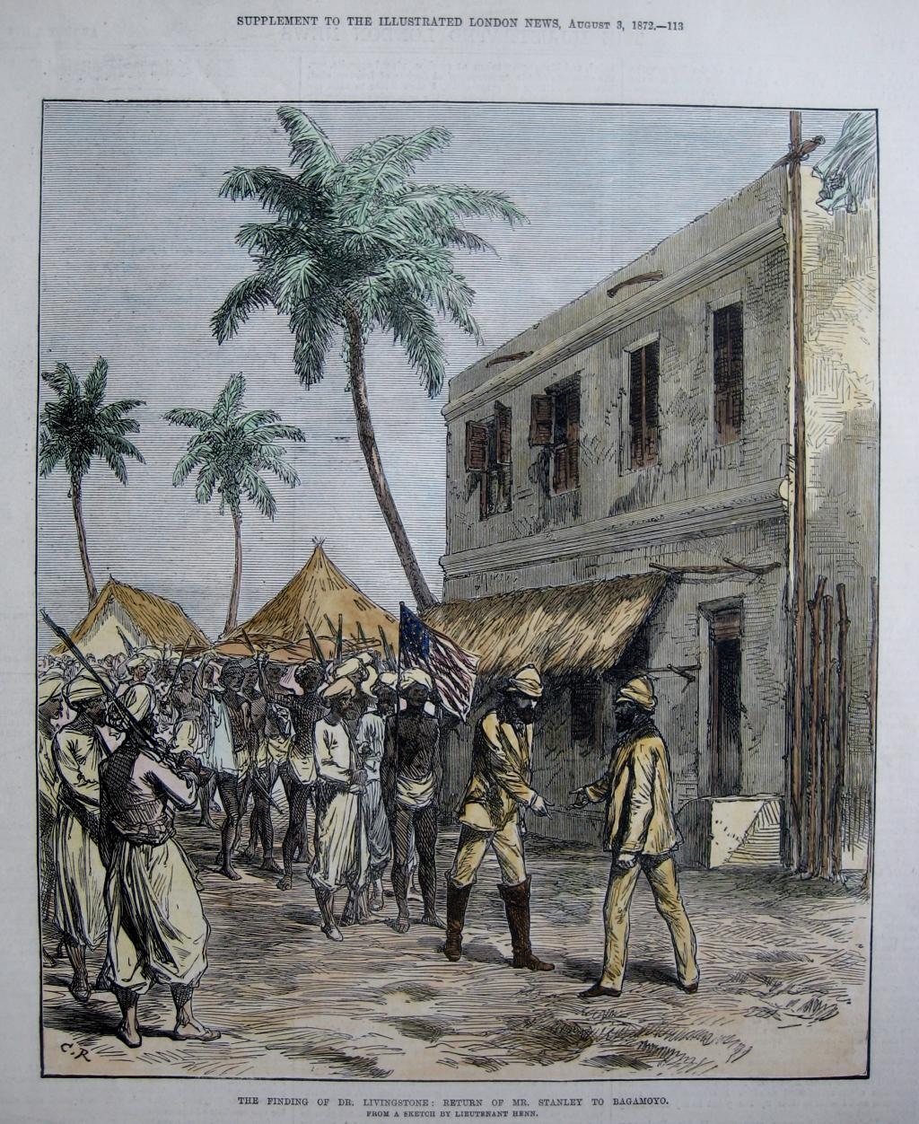 THE FINDING OF LIVINGSTONE C1872