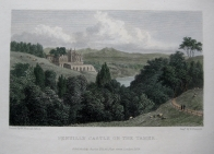 PENTILLY CASTLE,  CORNWALL BY WESTALL C1830
