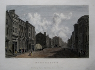 MANCHESTER  LANCASHIRE BY WESTALL C1830