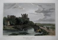 BROUGH CASTLE  CUMBRIA BY WESTALL C1830