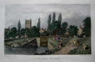 CALNE  WILTSHIRE BY WESTALL C1830