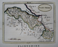 FLINTSHIRE  WALES BY JOHN SELLER C1787