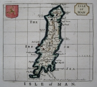 ISLE OF MAN  BY JOHN SELLER C1787