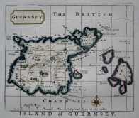 GUERNSEY SARK CHANNEL ISLES BY JOHN SELLER C1787