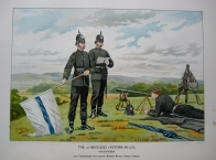 QUEEN VICTORIA'S ARMY BY G.D.GILES. C1890